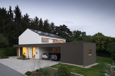 4인 가족을 위한 모던 내츄럴 주택 (출처 Juryeong Kuhn)