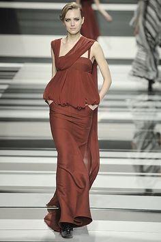 Elie Saab Fall 2008 Ready-to-Wear Fashion Show - Yana Karpova