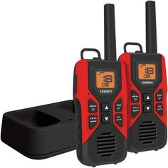 Uniden Gmr3055-2Ck 30-Mile 2-Way Frs/Gmrs Radios With Dual Charging Cradle