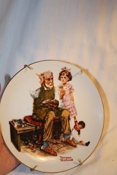 Limited Edition Norman Rockwell Collectible Plate