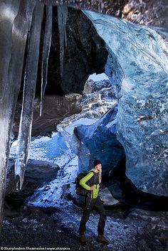 Entering Ice Age by skarpi - www.skarpi.is, via Flickr