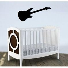 guitar vinyl decal