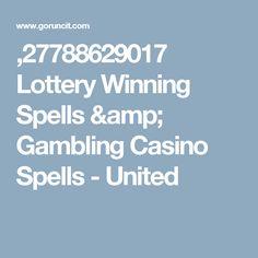 ,27788629017 Lottery Winning Spells & Gambling Casino Spells - United Good Luck Spells, Money Spells, Spelling, The Unit, Amp, Ring, Rings, Games, Jewelry Rings