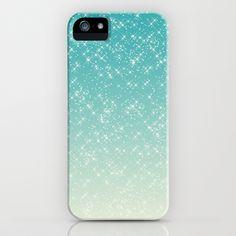 Aqua Sparkle iPhone & iPod Case    - $35.00
