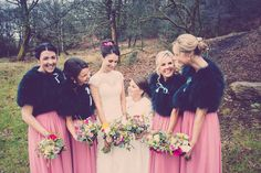 A Wild Boar bride and her bridesmaids.  Photographer: http://hayleybaxterphotography.com/