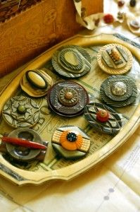 button jewelry -