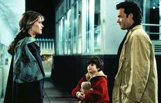 Sam and Jonah finally meet Annie on top of the Empire State Building in Sleepless in Seattle (1993)