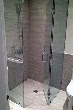 Top 60 Best Corner Shower Ideas - Bathroom Interior Designs Bathroom Design Small, Bathroom Interior Design, Modern Bathroom, Bathroom Ideas, Bathroom Remodeling, Budget Bathroom, Bathroom Storage, Small Bathroom Showers, Corner Showers