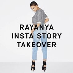 @goodamerican: Today & tomorrow the divine @rayanyamichelle of the #goodsquad is taking over our Instagram stories. We are beyond thankful for her positivity and think you will be too ❤️ Makeup: @milkmakeup @milk  Styling: @monicarosestyle Hair: @jenatkinhair