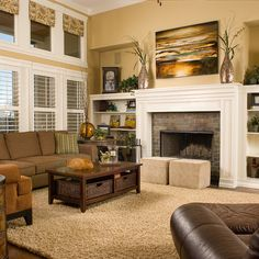 Gold Walls Design Ideas, paint color 'Restrained Gold' by Sherwin Williams
