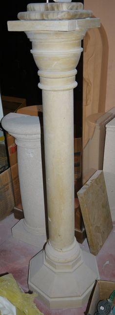 Colonna in pietra - http://achillegrassi.dev.telemar.net/project/colonna-in-pietra/ - Colonnain Pietra di Leccelevigata Dimensioni: – 40cmx 40cm x 125cm