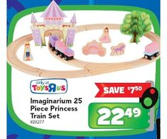 Imaginarium 25 Piece Princess Train Set