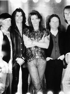 My Favorite Aerosmith Picture. Joe Perry is gorgeous :)