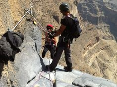 Oman | Adventure > Rock Climbing. view on Fb https://www.facebook.com/OmanPocketGuide  credit: Justin Halls #oman