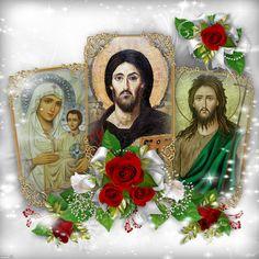 ~ΑΝΘΟΛΟΓΙΟ~ Χριστιανικών Μηνυμάτων!: ΓΙΑΤΙ ΒΛΕΠΟΥΜΕ ΤΗΝ ΜΟΡΦΗ ΤΟΥ ΠΡΟΔΡΟΜΟΥ ΔΙΠΛΑ ΣΤΟΝ ... Christus Pantokrator, Holi, Jesus Christ, Flowers, Painting, Quotes, Art, Good Night, Quotations