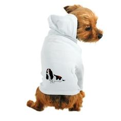 A basset hound Dog Hoodie from online store: AG Painted Brush T-Shirts. #cafepress #dog #petShirt