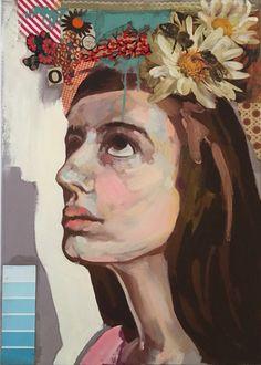 Mis pinturas // Laura duarte 2015 óleo y collage