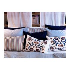 Ikea Alvine Spetsig Cushion Cover multicolor $10