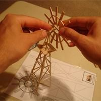 Toothpick sculpture- How to build structures with toothpicks