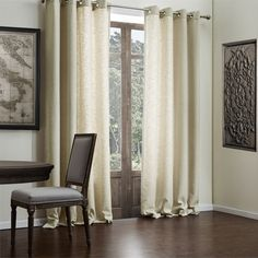 Faux Solid Linen Classic Eco-friendly Curtain   #curtains #decor #homedecor #homeinterior #beige