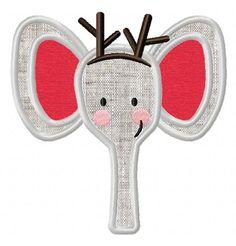 Christmas Jungle Face-2 EmbroiderOcean Design