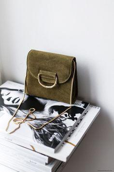 Little Liffner Suede Bag I More on viennawedekind.com