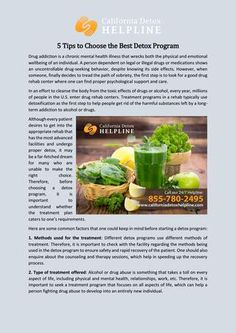 65 Best Rapid Detox Center In California Images Alcohol Detox