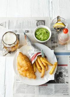 Rezept: Fish and Chips