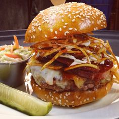Weekly BLT Burger special... the BBQ Ranch Burger