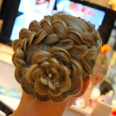 Perfect Pageant hair