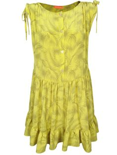 Thomas Sires Lucea Ruched Sleeve Dress