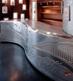 Die Coca Cola Theke von Viethen.com, Coca Cola Shop in der Köln Arena