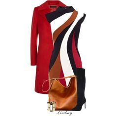 Karen Millen Dress by lindsayd78 on Polyvore featuring moda, Karen Millen, Jaeger and Charles David
