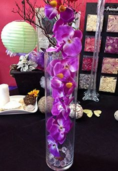 "28"" Purple Butterfly Orchid Artificial Flower Plant, Subm... https://www.amazon.com/dp/B01CGXPRUG/ref=cm_sw_r_pi_dp_x_NTUcybGB5GADP"