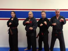The Instructors at the Ketsugo Fighting Arts Center