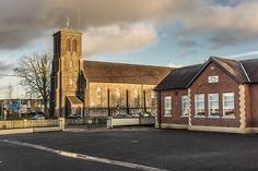 Conleth's Parish Church, Naas Rd, Newbridge Jehovah's Witnesses Kingdom, Church Of Ireland, Kingdom Hall, My Town, Fire, Cabin, Architecture, House Styles, Arquitetura