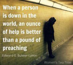 Powerful. Profound. True.
