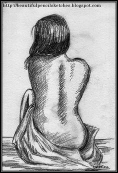Beautiful pencil sketches: charcoal pencil sketch of a beautiful girl figure figure Pencil Sketch Images, Beautiful Pencil Sketches, Pencil Art Drawings, Art Drawings Sketches, Pencil Sketches Of Girls, Pencil Sketch Portrait, Figure Sketching, Figure Drawing, Life Drawing