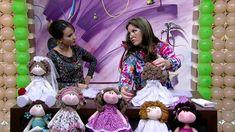 Mulher.com 10/04/2015 -  JO CRUZ BONECA NOIVINHA PT2