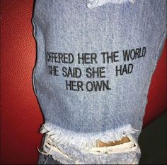 Embroidery Words Sayings 51 Ideas The Words, Cool Words, Pretty Words, Beautiful Words, Mood Quotes, Life Quotes, Quotes Motivation, Quotes Quotes, Jean Diy