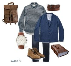 """""""Outfit 1"""" by keeshafrancois on Polyvore featuring Kjøre Project, Dolce&Gabbana, men's fashion and menswear"""