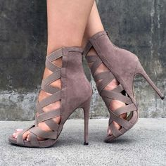Elastic Strap Stilettos