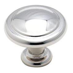 Amerock 1-1/4 in. Polished Chrome Cabinet Knob-BP1387-26 at The Home Depot