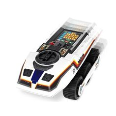 Bigtrak by Zeon Limited Bigtrak! You might remember having one of these in the early This retro and cool programmable educational toy is a six-wheeled tank with a front mounted blue photon beam headlamp used for firing The … Continue reading → 1980s Toys, Retro Toys, Vintage Toys, Vintage Games, Popular Kids Toys, Thing 1, Toy R, Gadgets And Gizmos, Christmas Toys