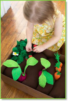 DIY Plantable Felt Garden Box, making this soon!!! don't know for who, but making it