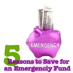 Check out these reasons to have an emergency fund beyond paying for necessities.  #MSW2013 Great reasons to start your Emergency Fund today! - MilitaryAvenue.com