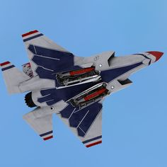 F-35B Lightning II in Thunderbirds colors