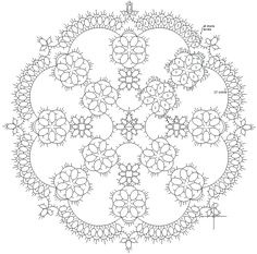 33 Ideas crochet doilies for beginners tutorials needle tatting Shuttle Tatting Patterns, Needle Tatting Patterns, Crochet Motif, Crochet Doilies, Doily Patterns, Crochet Patterns, Tatting Tutorial, Lacemaking, Tatting Lace