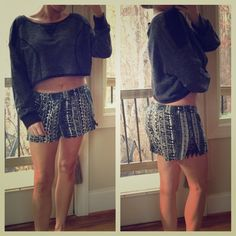 Urban outfitters long sleeve crop top large Brand new with tags, size large, shorter in front and longer in back Urban Outfitters Tops Crop Tops