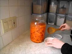 In this video I demonstrate how EASY it is to make your own lacto-fermented carrots. If you are already purchasing lacto-fermented foods at the health food s...